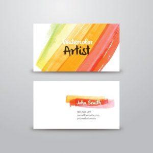artist business cards ccaa17f65cdfa2583cfecfa5a89e11bb painter logo design artist business cards