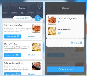 artist website templates food menu l
