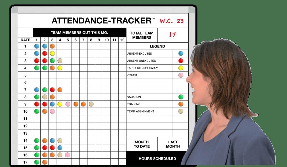 attendance tracker excel