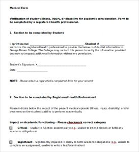 authorization to release medical records medical doctors note template