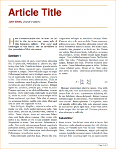 auto biography outline a newspaper article example article