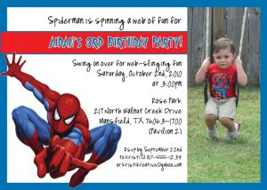 avengers birthday invitations simple spiderman birthday invitations