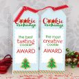award ribbon template cookie exchange winner ribbons