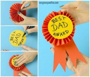 award ribbon template paper award ribbon fathers day craft