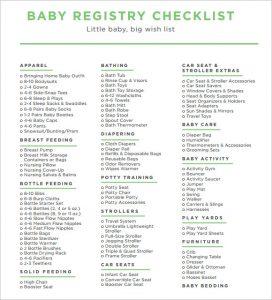 baby registry checklist kohls baby registry checklist