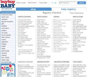 baby registry checklist untitled