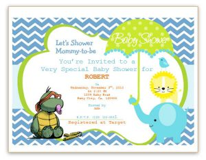 baby shower card template baby shower flyer template word