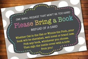 baby shower invitations that can be edited bring a book baby shower invitations