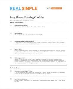 baby shower planning baby shower planning checklist template