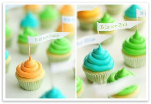 baby shower to do list baby cupcake