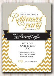 bachelorette party invitation template retirement party invitation template microsoft