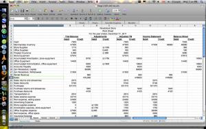 balance sheet example excel cash flow statement worksheet