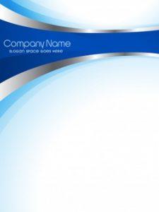 band flyer template plantilla modera azul de flyer empresarial