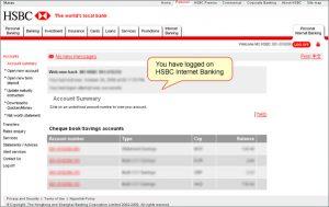 bank statement example logon en