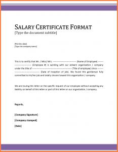bank statement template salary statement sample format salary certificate letter format sample resizec