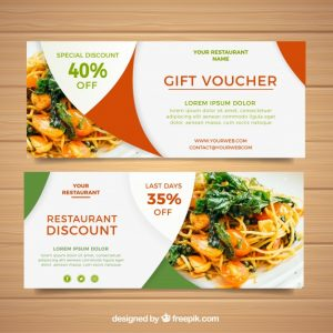 banners for sale gift voucher design
