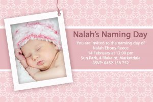 baptism invitation template baptism invitation template for baby girl