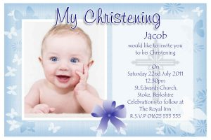 baptism invitation template baptism invitations for boys
