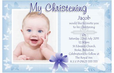 baptism invitation template baptism invitations for boys