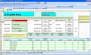 bar inventory spreadsheet excel equipment spreadsheet