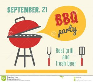 barbeque invitations templates bbq party barbeque grill cooking flat design invitation template