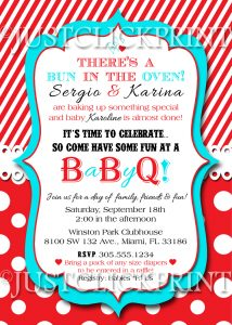 barbeque invitations templates bunovenshower original