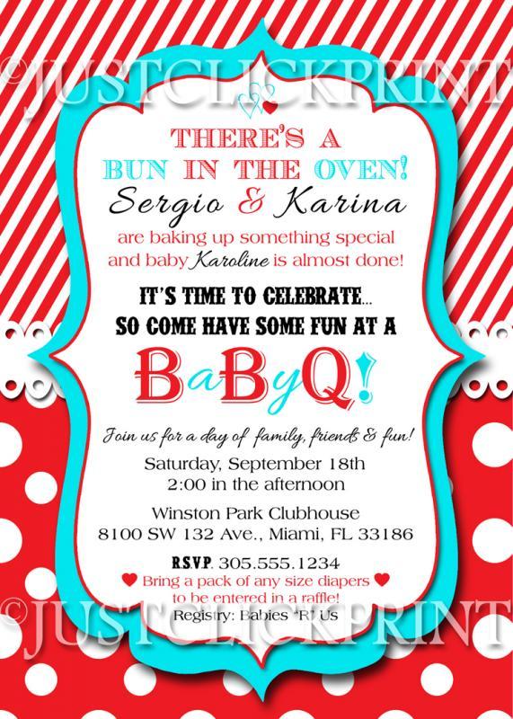 barbeque invitations templates