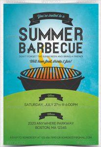 barbeque invitations templates summer barbecue invitation flyer