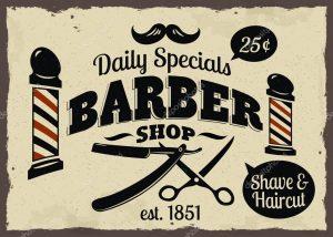 barber shop flyer depositphotos stock illustration barber shop or hairdresser icons