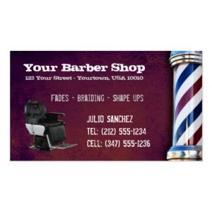 barbershop business cards customizable barber shop bc business card rbecbdddcdaea it byvr