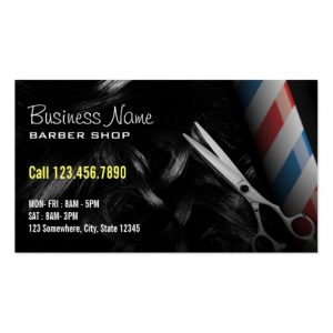 barbershop business cards silver scissor professional barber business cards rdecbdcaba it byvr