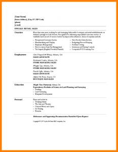 basic business plan template basic resume examples retail retail sales associate resume