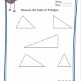basic geometry worksheets basic geometry worksheet triangle measurement