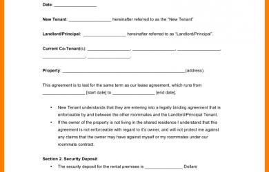 basic rental agreement fillable basic rental agreement fillable roommate agreement template x