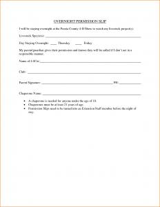 basic rental agreement template sample permission slip