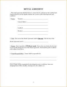 basic rental agreement template simple rental agreements free rental lease agreement templates