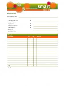 basic resume template word blank recipe template d