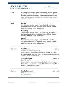 basic student resume templates free microsoft word resume templates for download with basic resume template word