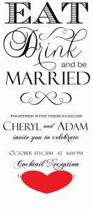 beach wedding invitation asdf