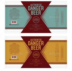 beer label template beer label template