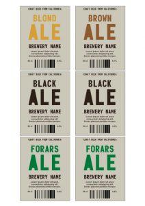 beer label template beerb