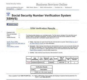 benefit verification letter ssnobama