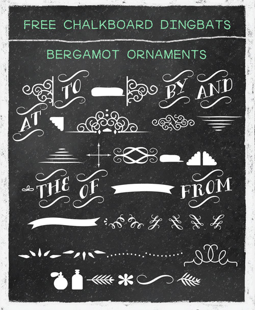 Best Chalkboard Fonts | Template Business