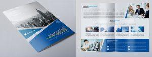bi fold brochure corporate bi fold brochure