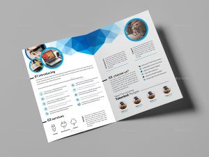 bi fold brochure multipurpose bi fold brochure template