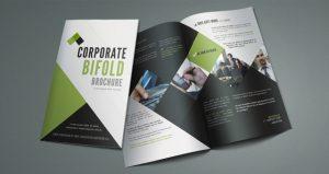 bi fold brochure template corporate bi fold brochure template