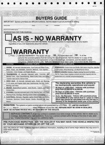bill of sale ct buyersguide