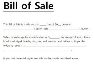 bill of sale word template bill of sale template word