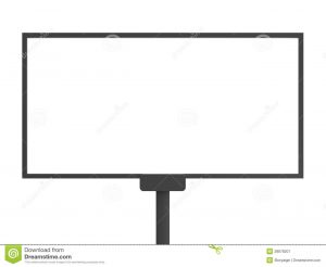 billboard design template blank billboard