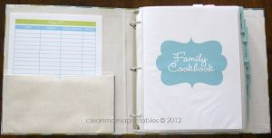 binder cover printables